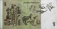Ill. 26: The Australian one dollar note from 1966