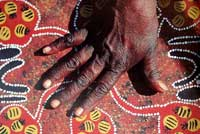 Ill. 38: If the industry was regula-ted by and adequate legis-lation, experts believe that Aboriginal Australians could at long last expe-rience the reconciliation that politicians for years have only been talking about.
