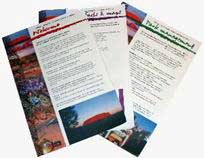 Ill. 36: The official tourist booklet containing all the necessary information to respect Uluru as a sacred place.